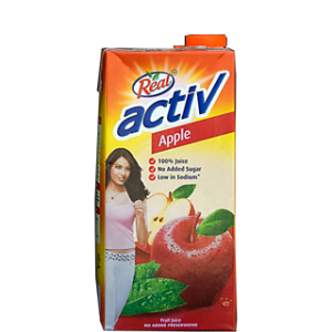 REAL  ACTIVE APPLE 1LTR