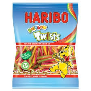 HARIBO RAINBOW TWISTS 150G