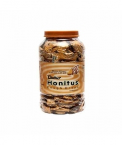 DABUR HONITUS COUGH DROPS HONEY-GINGER JAR 100N
