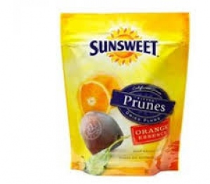 SUNSWEET ORANGE ESSENCE PITTED PRUNES 198G