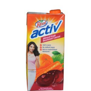 REAL ACTIVE MIXED FRUIT BEETROOT 1LTR