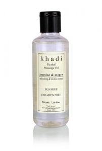 KHADI NATURAL JASMINE MOGRA MASSAGE OIL 210ML