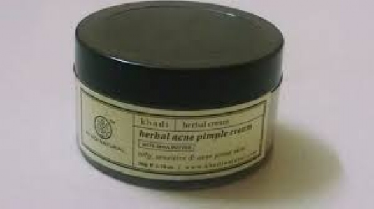 KHADI NATURAL HERBAL ACNE PIMPLE CREAM 50G