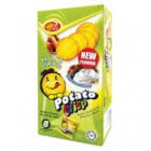 WIN2 POTATO CRISP CRACKERS SOUR CREAM FLAV 160G