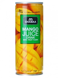 CHABAA MANGO JUICE DRINK 240ML