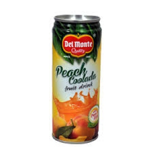 DEL MONTE PEACH COOLADA FRUIT DRINK 240ML