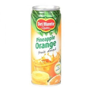DEL MONTE PINEAPPLE ORANGE FRUIT DRINK 240ML