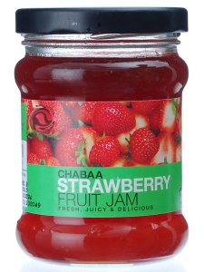 CHABAA STRAWBERRY FRUIT JAM 430G