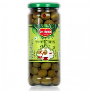 DEL MONTE STUFFED GREEN OLIVES 450G