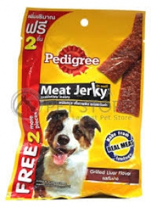 PEDIGREE MEAT JERKY BBQ CHICKEN FLAV 80G