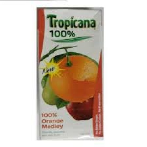 TROPICANA ORANGE MEDLEY H% 1LTR