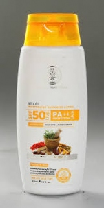 KHADI NATURAL SPF-50 SUNSCREEN LOTION 120ML