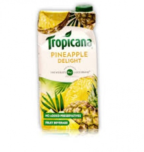 TROPICANA PINEAPPLE DELIGHT 1LTR