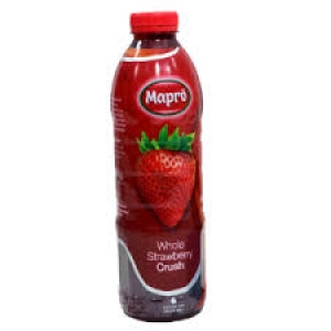 MAPRO WHOLE STRAWBERRY CRUSH 1 LTR