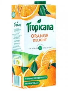TROPICANA ORANGE DELIGHT 1LTR