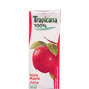 TROPICANA 100% APPLE  200ML