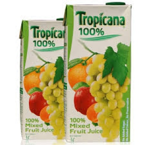TROPICANA MIXED FRUIT JUICE 100% 1LTR