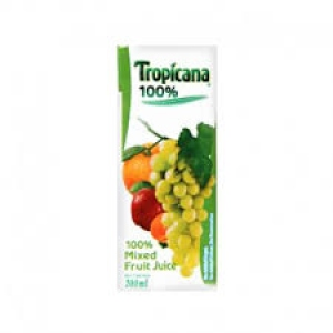 TROPICANA 100% MIXED FRUIT 200ML