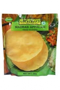 MOTHER`S RECIPE MADRAS APPALAM 200G