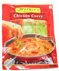 MOTHER`S RECIPE CHICKEN CURRY MIX 80G