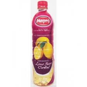 MAPRO LIME JUICE CORDIAL 750ML