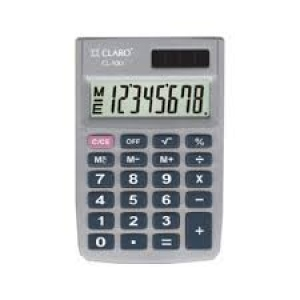 CLARO ELECTRONIC CALCULATOR CL-100