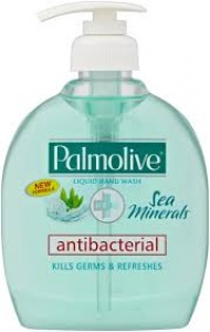 PALMOLIVE NATURALS SEA MINERALS HW PUMP 250ML