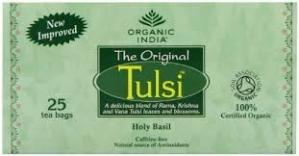 ORGANIC INDIA TULSI GREEN TEA 25 INFUSION BAGS