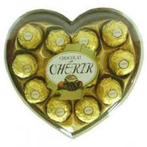 CHERIR CHOCOLATE HEART 102G