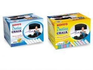 KORES DUSTLESS CHALK 12PCS