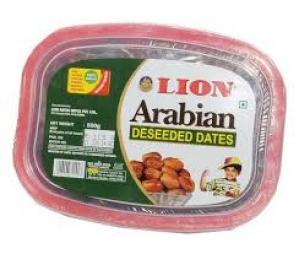 LION ARABIAN DESEEDED DATES CUP 500G