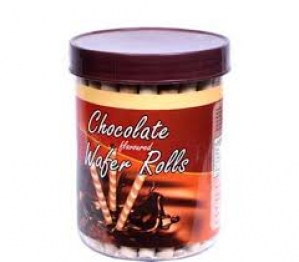 PICKWICK CHOCOLATE FLAV WAFER ROLLS 300G