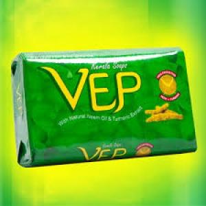 VEP KERALA SOAP WITH NEEM & TURMERIC 100G