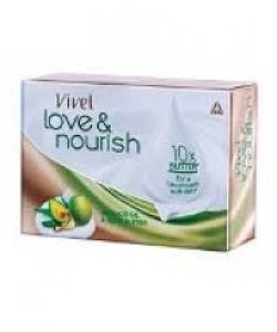 VIVEL LOVE & NOURISH OLIVE BUTTER SOAP 75G
