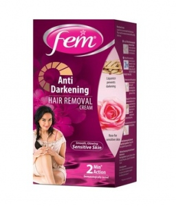 FEM ANI DARKENING HAIR REMOVAL CR.ROSE 25G