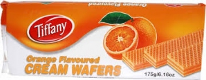 TIFFANY ORANGE FLAV CREAM WAFERS 75G