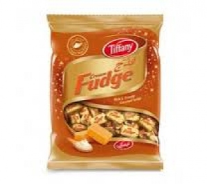 TIFFANY CREAM FUDGE TOFFEE PKT 600G