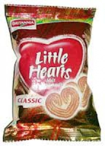 BRITANNIA LITTLE HEARTS  25G