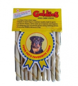 GOLDIES CHEW STICKS REGULAR 10 UNITS