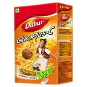 DABUR GLUCO PLUS-C ORANGE FLAV 1KG
