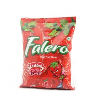 MAPRO FALERO STRAWBERRY FRUIT CHEWS PKT 500G