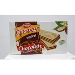 YUMMY GRANNY WAFERS CHOCOLATE FLAV. 55G