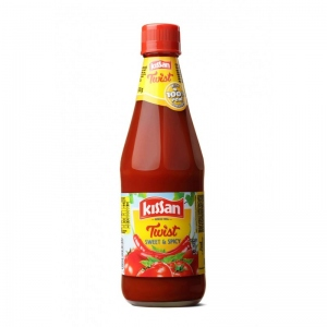KISSAN TWIST SWEET & SPICY TOMATO KETCHUP 200G