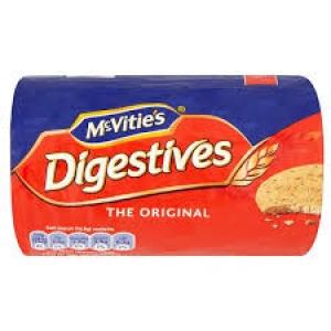 MCVITIES DIGESTIVE 75G+ 25G FREE