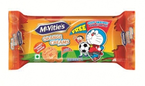 MCVITIES ORANGE CREAMS BISCUIT 60G