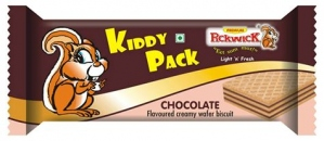 KIDDY PACK CHOCOLATE WAFER 15G