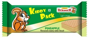 KIDDY PACK PINEAPPLE WAFER 15G