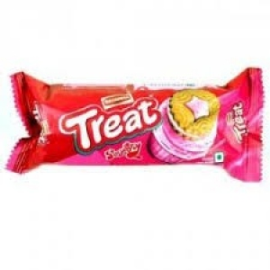 BRITANNIA TREAT STRAWBERRY  75G