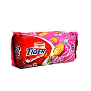 BRITANNIA TIGER STRAWBERRY 50G