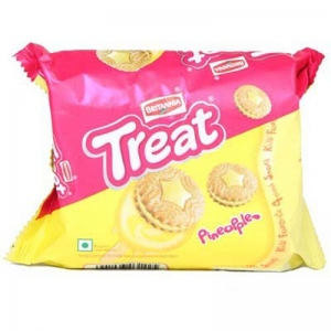 BRITANNIA TREAT PINEAPPLE 150G